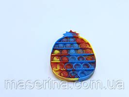 Поп Ит игрушка pop it антистресс  пупырка радуга  для детей разноцветный