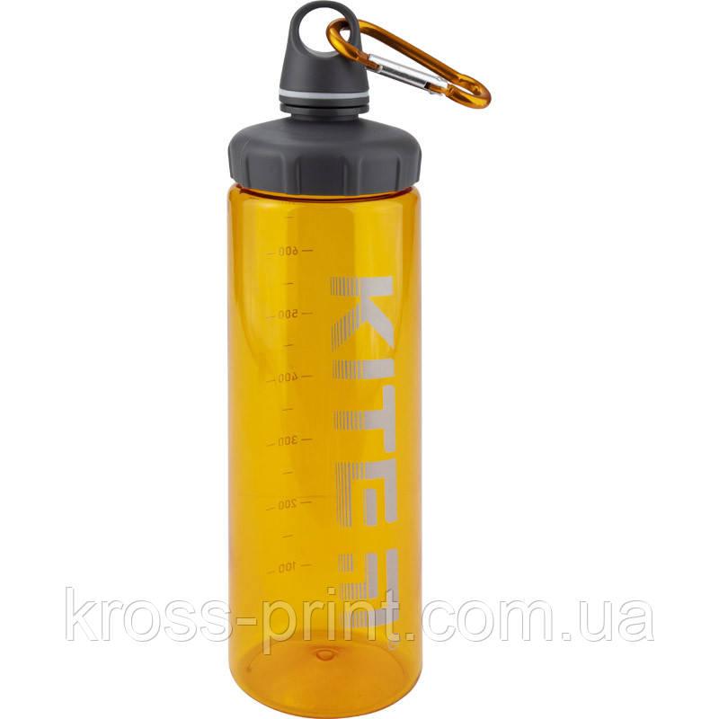 Пляшка для води Kite К19-406-07, 750 мл, помаранчева