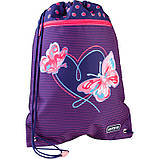 Сумка для взуття з кишенею Kite Education Butterflies K21-601M-3, фото 3