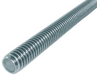 KLC-09-15-04-L1000 Шпилька оцинкована, з різьбою М8, длинна1000 мм
