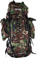 Рюкзак Объемом 70 литров камуфлированный дубок
