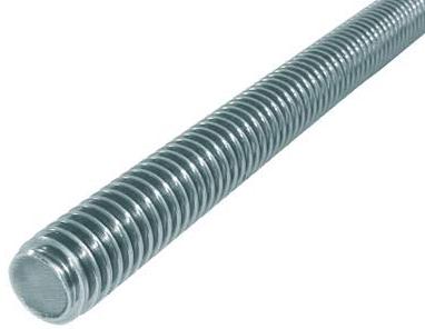 KLC-09-13-04-L1000 Шпилька оцинкована, з різьбою М10, длинна1000 мм