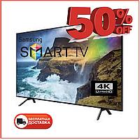 Телевизор Samsung Smart TV Самсунг 4K 32 дюйма Ultra HD LED TV WIFI Android Андроид 9 Смарт ТВ Гарантия