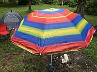 Пляжный зонт с регулируемой высотой и наклоном 180 см 1, фото 1