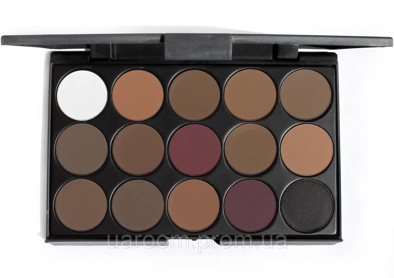 Набір тіней Mac Professional Make Up 15 кольорів E1501/02/04/05