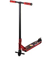 Scooter трюковий двоколісний самокат з пегами та HIC системою (червоний)