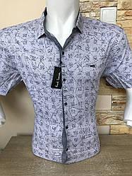 Батальна сорочка короткий рукав P.Smith