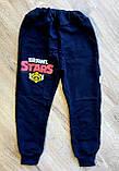 Детские спортивные штаны  с начёсом, фото 2