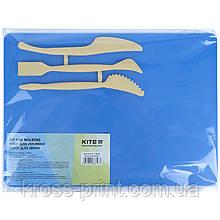 Набір для ліплення Kite K17-1140-02 (дошка + 3 стека), синій