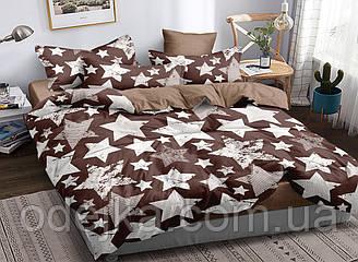 Двуспальный комплект постельного белья 180*220 сатин (16803) TM КРИСПОЛ Украина