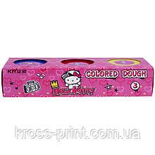 Кольорове тісто для ліплення Kite Hello Kitty HK21-151, 3*75 г