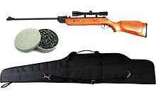 Гвинтівка пневматична Air Rifle B2-4 + приціл 4х20 + кулі Oztay 0,51 + чохол