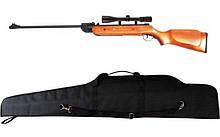 Гвинтівка пневматична Air Rifle B2-4 + приціл 4х20 + чохол