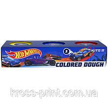 Кольорове тісто для ліплення Kite Hot Wheels HW21-151, 3*75 г