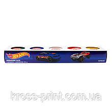 Кольорове тісто для ліплення, 5*75г Kite Hot Wheels HW19-152