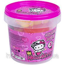 Кольорове тісто для ліплення Kite Hello Kitty HK21-137, 8*20г+2 формочки+стек