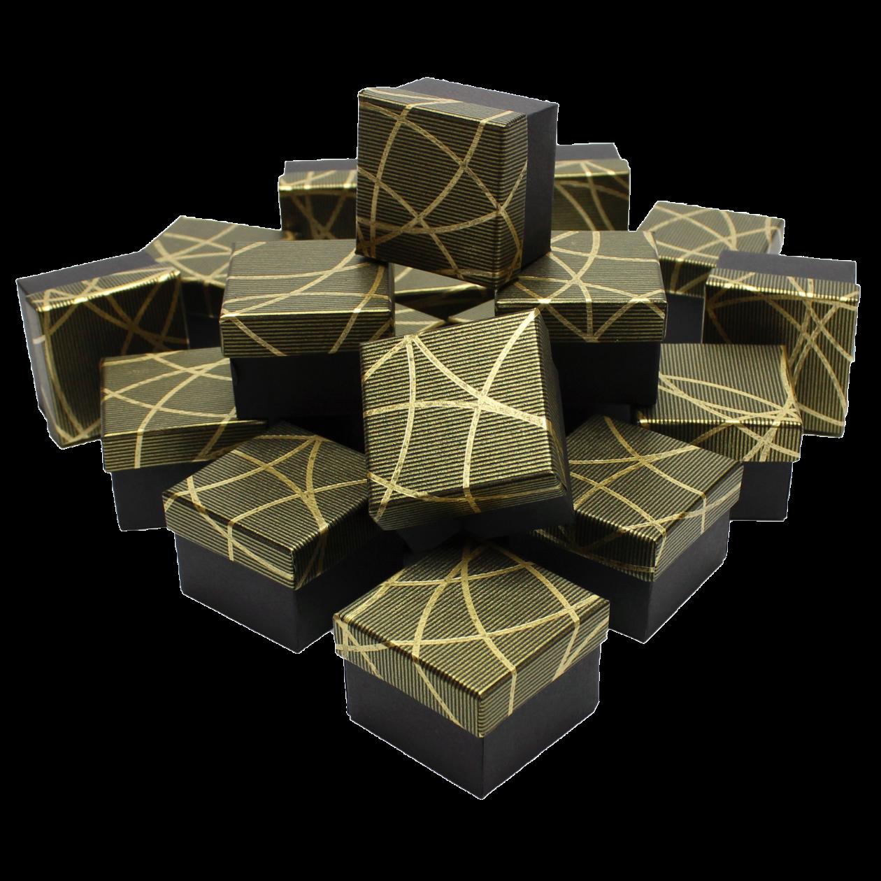 Коробочки для колец мед золото 🎁