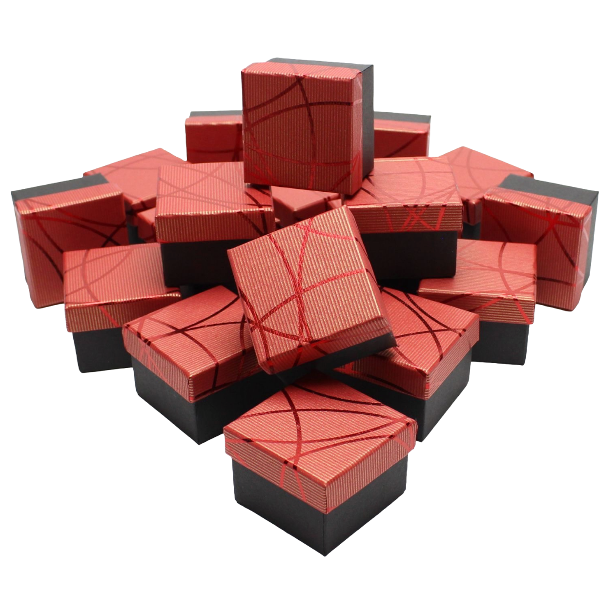 Коробочки для колец Красный 2
