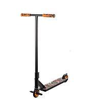 Scooter трюковий двоколісний самокат з пегами та HIC системою (помаранчевий)
