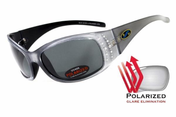 Жіночі сонцезахисні окуляри BluWater BISCAYENE Silver