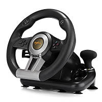 Игровой руль с педалями PXN V3 PRO (PC/PS3/PS4/X-ONE/SWITCH) Двойная вибрация