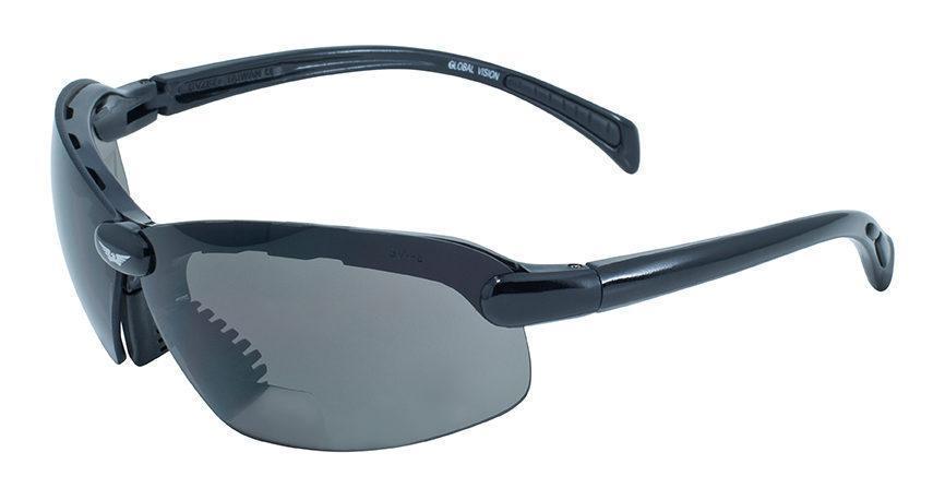 Біфокальні окуляри Global Vision Eyewear C-2 BIFOCAL Gray +2,0 дптр