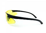 Спортивні окуляри Global Vision Eyewear WEAVER Yellow, фото 4