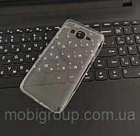 Чехол силиконовый прозрачный для Samsung J2 Prime, 0.5mm