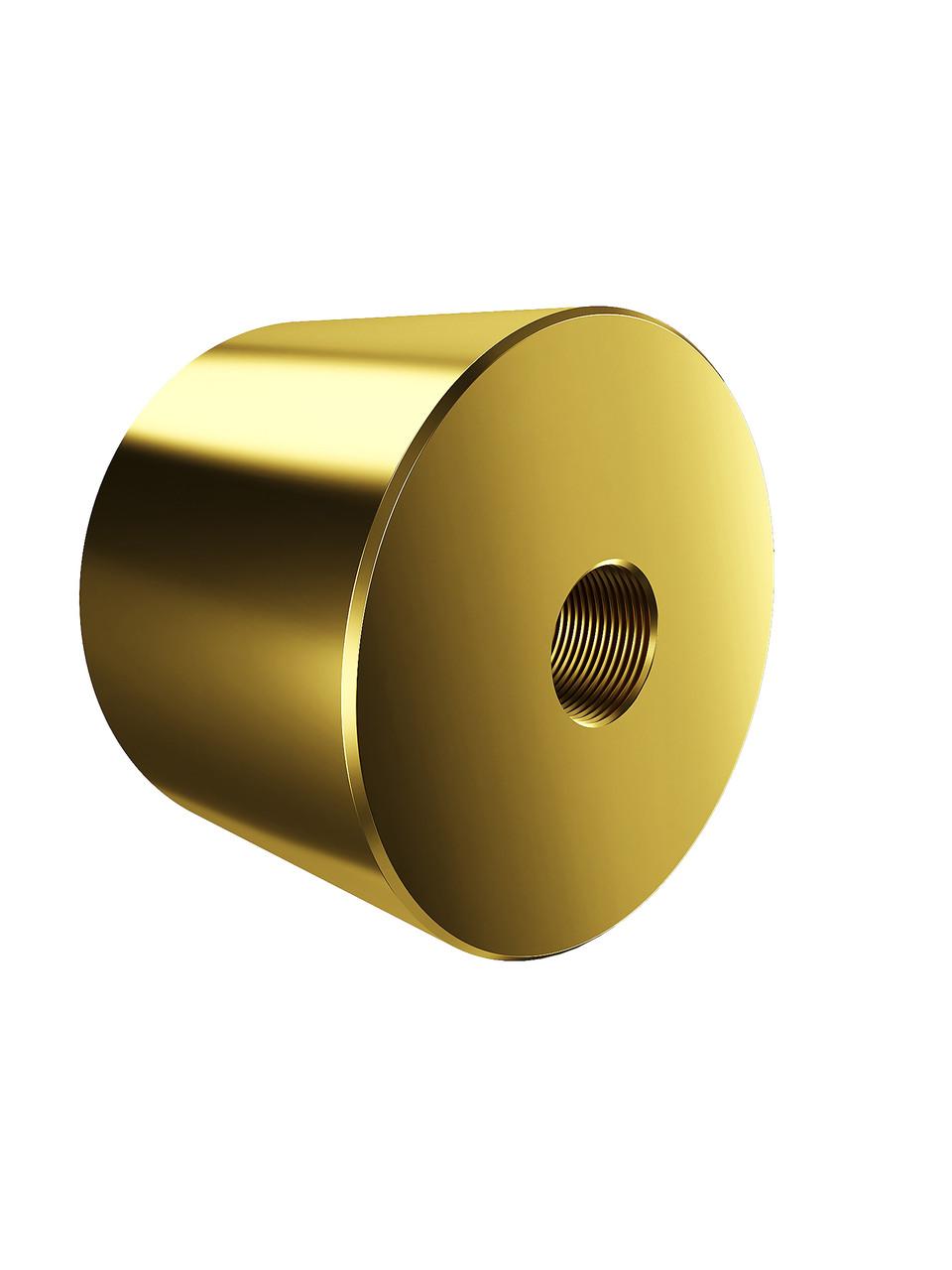 ODF-06-26-10-L30 Дистанція 30 мм для коннектора діаметром 40 мм з різьбою М10, колір золото