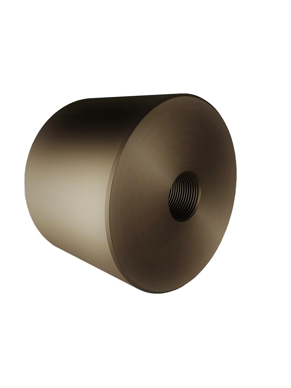 ODF-06-26-30-L30 Дистанция 30 мм для коннектора диаметром 40 мм и с резьбой М10, цвет матовая бронза