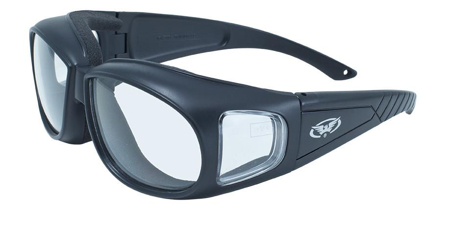 Накладные очки Global Vision Eyewear OUTFITTER Clear