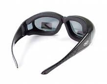 Накладные очки Global Vision Eyewear OUTFITTER Smoke, фото 2
