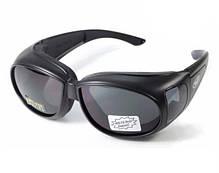 Накладные очки Global Vision Eyewear OUTFITTER Smoke, фото 3