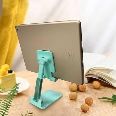 Складная подставка держатель для телефона, планшета Mobile Holder 305 Green