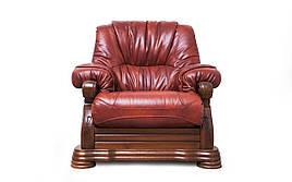 Шкіряне крісло Віконт