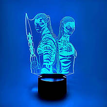 """3D нічник """"Аватар"""" 3DTOYSLAMP"""