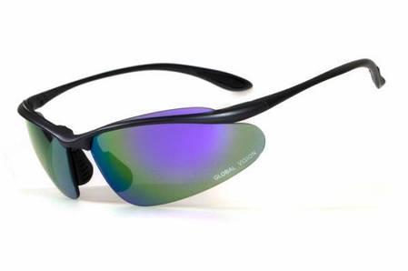 Спортивні окуляри Global Vision Eyewear HOLLYWOOD G-Tech Purple, фото 2