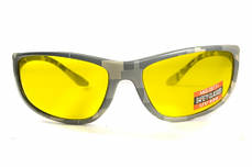 Стрілецькі окуляри Global Vision Eyewear HERCULES 6 CAMO Yellow, фото 3