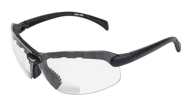 Біфокальні окуляри Global Vision Eyewear C-2 BIFOCAL Clear +1,5 дптр, фото 2