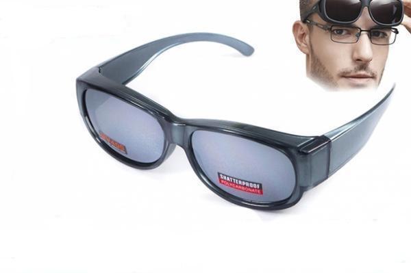 Накладні окуляри Swag ATTACK Crystal Gray