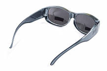 Накладні окуляри Swag ATTACK Crystal Gray, фото 2