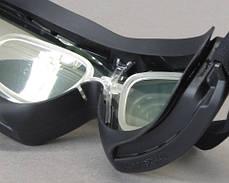 Тактические очки с диоптрической вставкой Pyramex V2G-PLUS прозрачные, фото 3