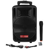 Портативная беспроводная колонка Su-Kam BT 100D + микрофон