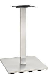 Опора для стола Нил,  высота 72 см, основание 45*45 см, нержавеющая сталь