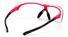 Спортивні окуляри Pyramex ONIX RED Clear, фото 2
