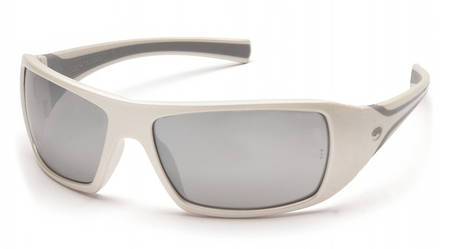 Спортивні окуляри Pyramex GOLIATH WHITE Silver Mirror, фото 2