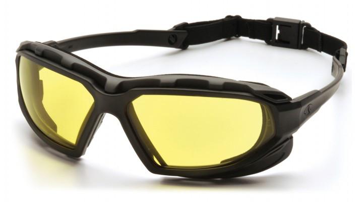 Балістичні окуляри Pyramex HIGHLANDER PLUS Amber