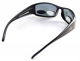 Біфокальні окуляри з поляризацією BluWater BIFOCAL 1 Gray +2,5 дптр, фото 3