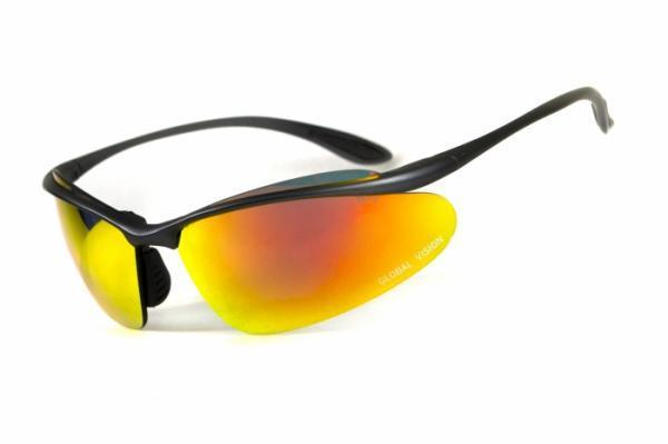 Спортивні окуляри Global Vision Eyewear HOLLYWOOD G-Tech Red