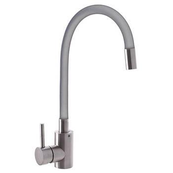 Змішувач для кухні 011 нержавійка REFL Grey SS2799 SUS Mixxus
